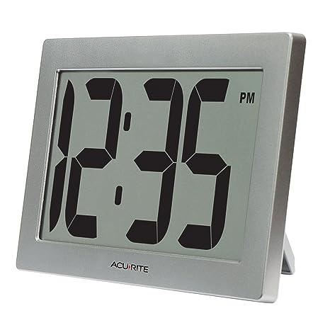 """AcuRite 75102 9,5 """"gran reloj Digital con 3.75"""" dígitos y Intelli"""
