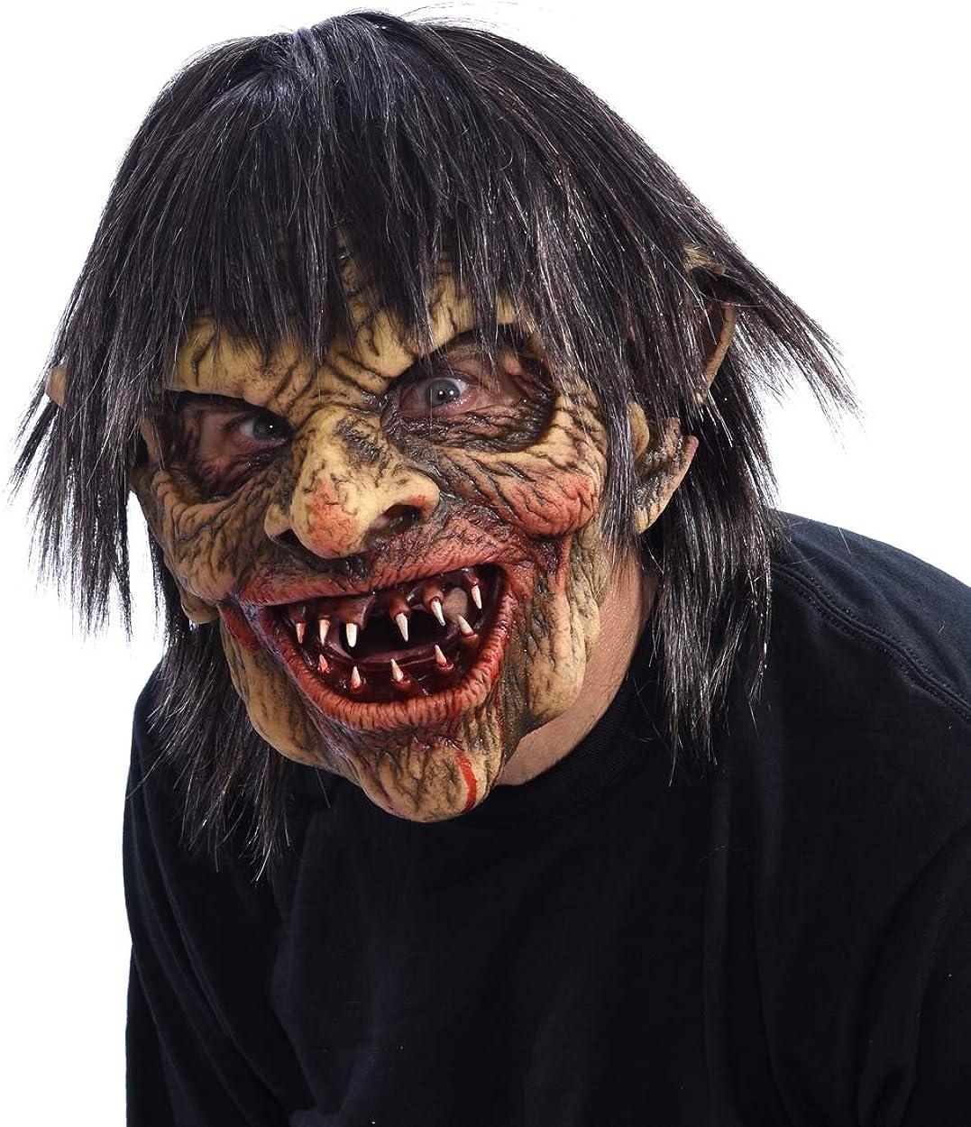 Zagone Studios Flesh Eater Zombie Mask White Red