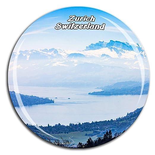 Weekino Uetliberg Montaña Zúrich Suiza Imán de Nevera Cristal 3D ...