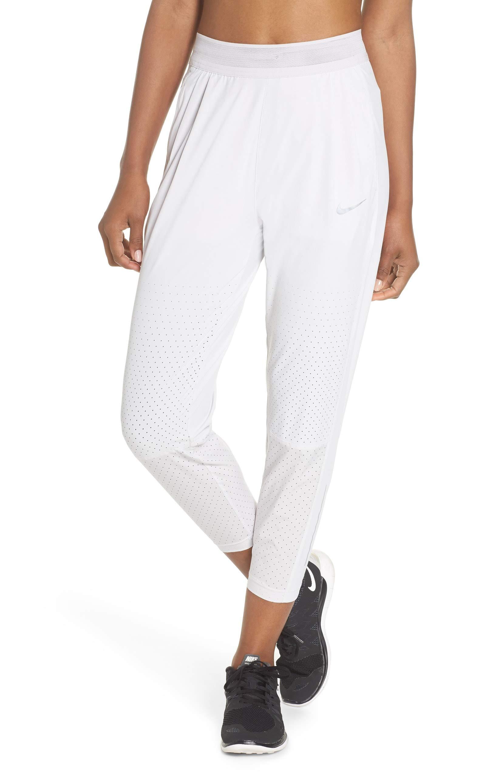 Nike Womens Dri-Fit Flex Running Division Pants Vast Grey 923416-092 (Medium)