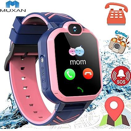 Amazon.com: MUXAN Reloj inteligente para niños, juego SOS ...