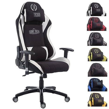 Racing Bürostuhl Shift V2 Stoff Drehstuhl Schreibtischstuhl schwarz//weiß