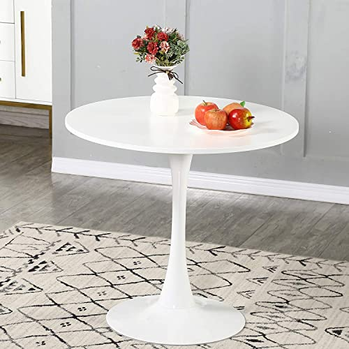 Round Dining Table 31″ Modern Tulip Dining Room Table