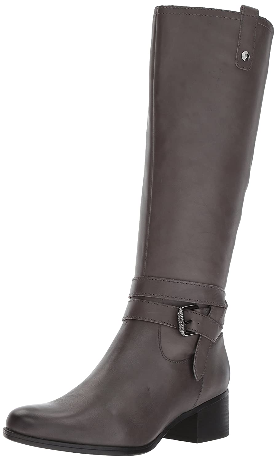Naturalizer Womens Dev Closed Toe Leather Fashion Boots B07236QB28 11 C/D US|グレー グレー 11 C/D US