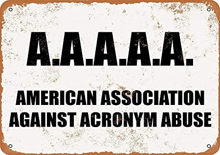 HALEY GAINES American Association Against Acronym Abuse ...
