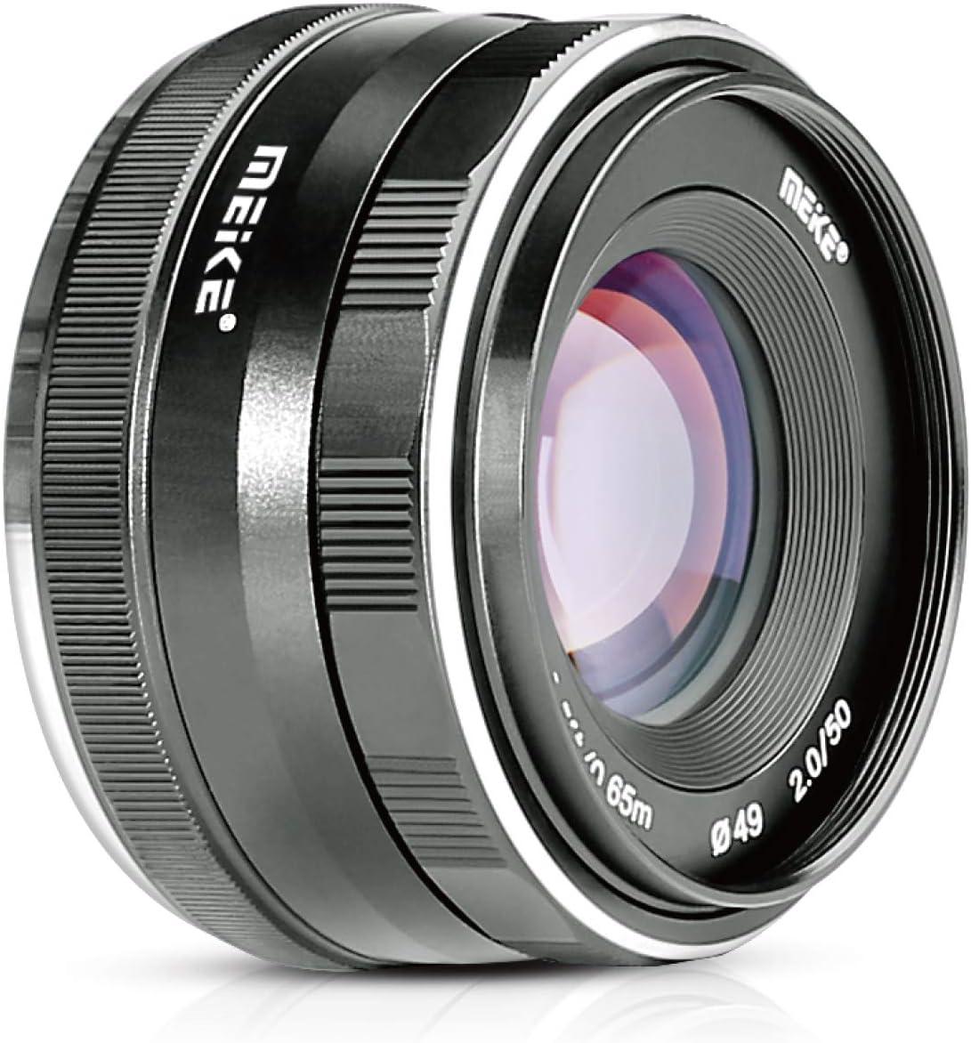 Enfoque 50mm f / 2.0 Lente APS-C Olympus Panasonic Lumix