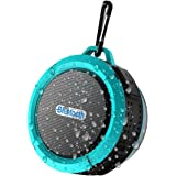 Shower Speaker, 8Gtech Portable Waterproof Wireless Bluetooth Speaker with 5W Driver, Suction Cup, Built-in Mic, Hands-Free Speakerphone and Beach Speaker for Shower, Pool, Beach,Bicycle,Outdoor