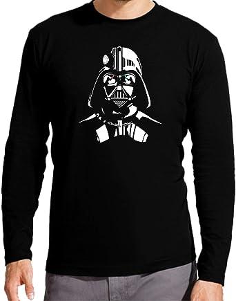 Camiseta Manga Larga de Mujer Star Wars R2D2 C2PO Dark Vader ...