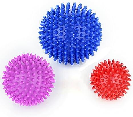 Timberbrother bola de masaje – Paquete de 3 - Bola masajeadora con ...