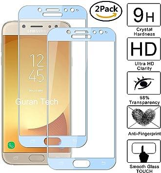 Guran [2 Paquete] Protector de Pantalla para Samsung Galaxy J7 ...