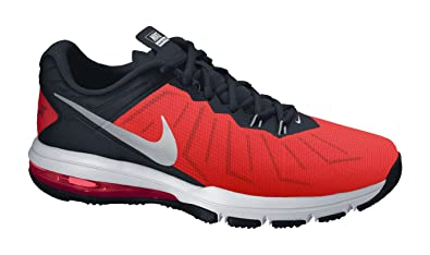 12e54a1073 Amazon.com | Nike Men's Air Max Full Ride TR, University RED/Metallic Silver-Black-TTL,  14 M US | Shoes