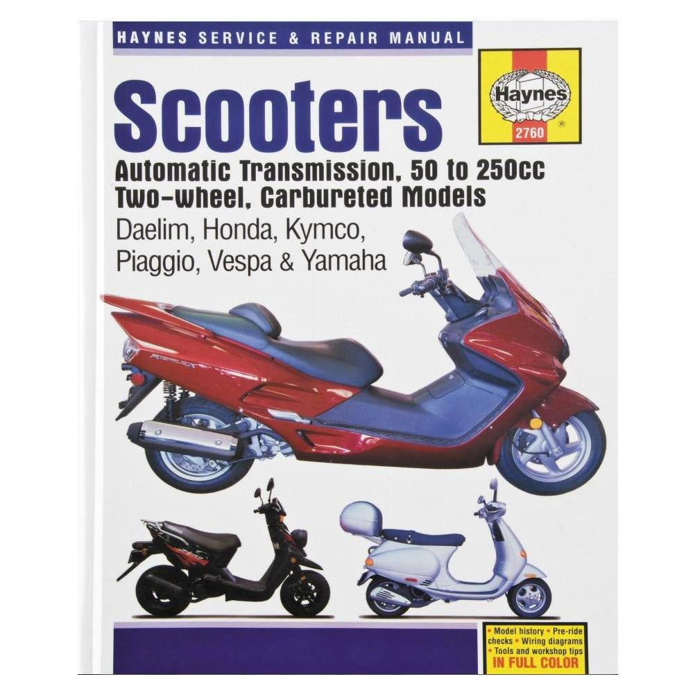 Amazon.com: Haynes Chinese, Taiwanese, and Korean Scooters (50-200cc) Manual  4768: Sports & Outdoors