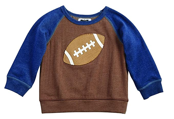 40211be304cb Amazon.com: Mud Pie Boys All Boy Collection Game Day Raglan Style ...