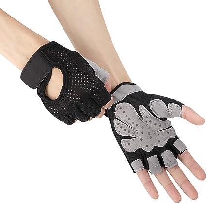 Yoga Gloves Non-slip Fashion Women Body Building Gym Half Finger Gloves Workout