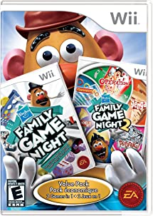 Hasbro Family Game Night 1 And 2 Bundle