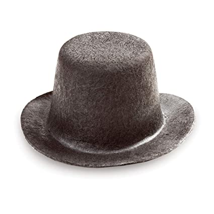 dbe999c5d55 Amazon.com  Bulk Buy  Darice DIY Crafts Doll Hat Felt Top Hat Black ...