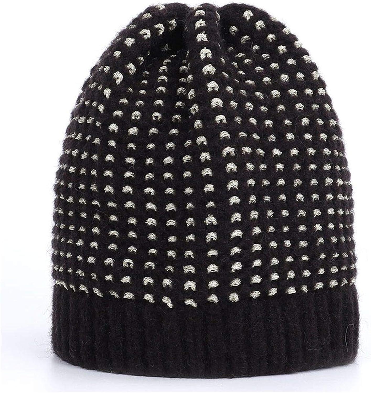 New Womens Shiny Winter hat Real Fur Pompon Knit hat Solid Color pom pom hat Raccoon Fur pom pom Ladies Casual peas