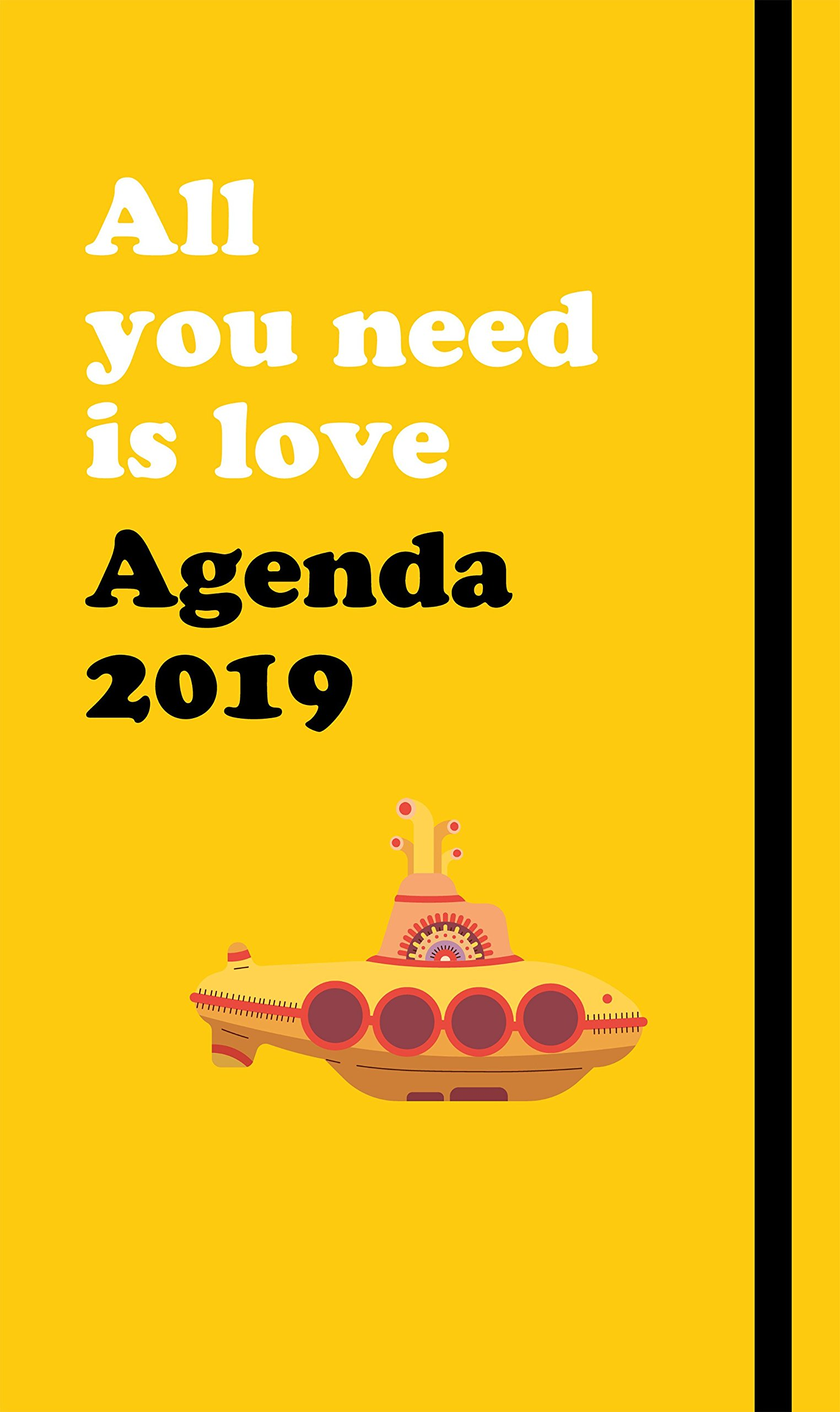 Agenda anual The Beatles 2019: All you need is love SIN ...