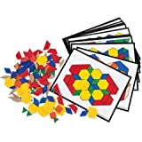 Learning Resources Pattern Block Activity Pack, 160 Pieces