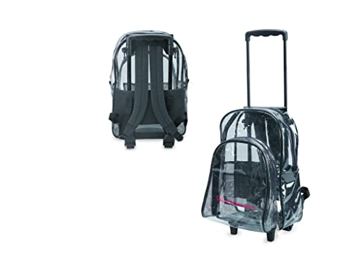 Amazon.com | Clear Backpack With Wheels | Kids' Backpacks