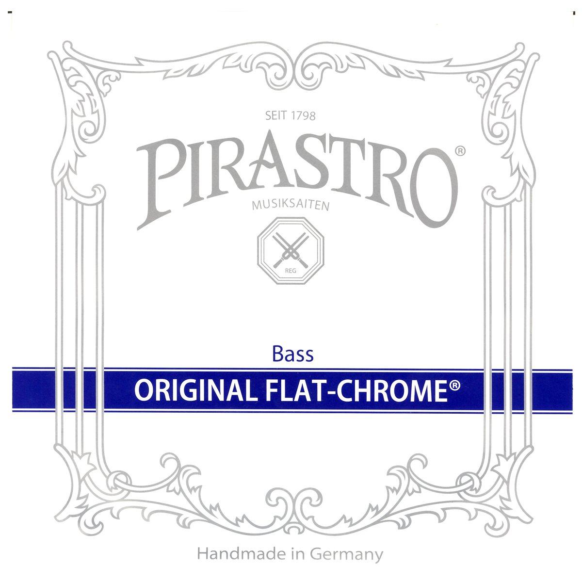 PIRASTRO (ピラストロ) 弦 オリジナル フラット クロム E スチール/クロムスチール巻 Contrabass (コントラバス) 用 3474   B012CMJ1XU