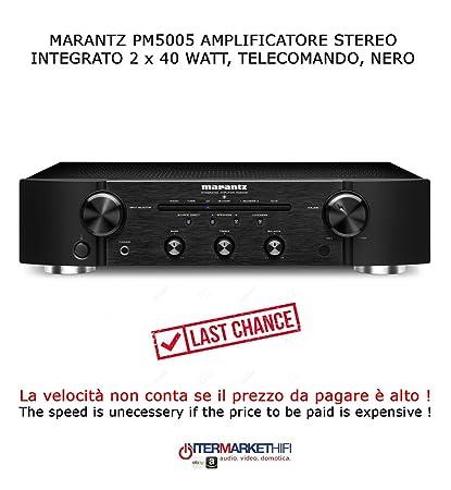 Amplificador estéreo Hi-Fi Marantz PM 5005 2 x 40 W (8 Ohm RMS