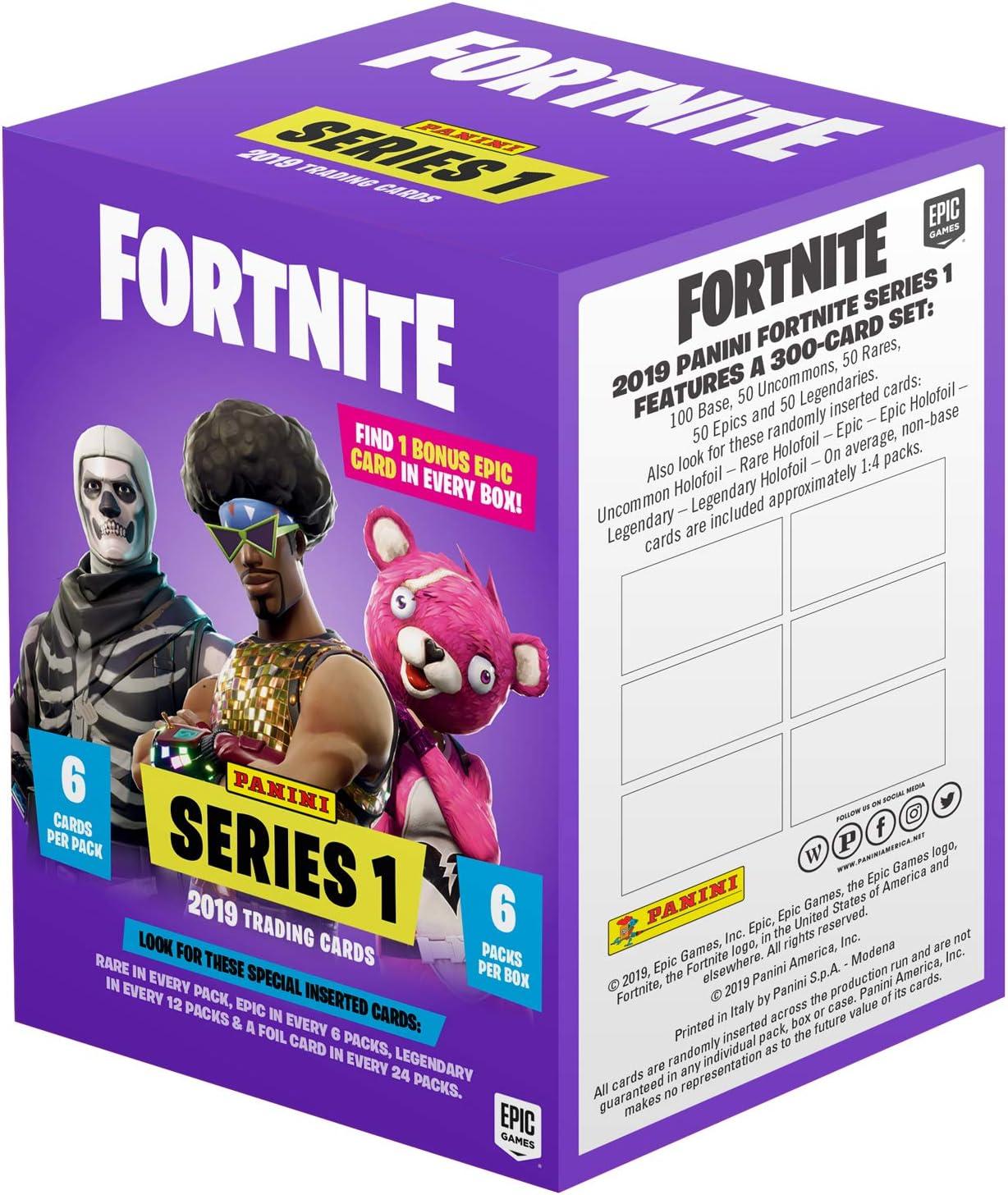Panini 97672 Fortnite - Juego de 6 Cartas coleccionables (en Caja): Amazon.es: Juguetes y juegos