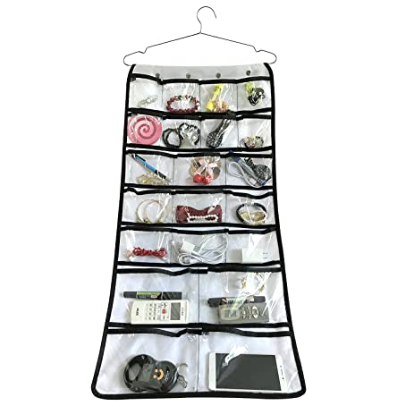 Amazoncom Brotrade DualSided Closet Organizer Bag With Hook Home