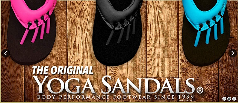 45362b4e55165b The Original Yoga Beech Sandals - Stylish Casual Beach Slip On Summer Spa Pedicure  Flip-Flops (Large