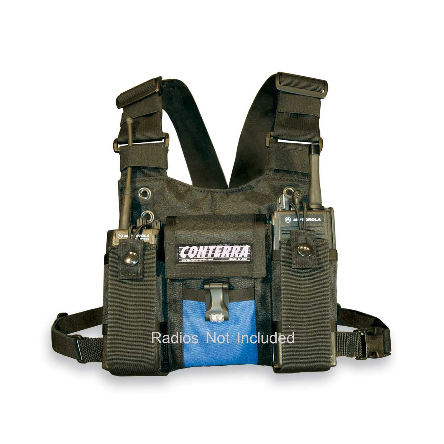 Conterra Double Adjusta-Pro II Radio Chest Harness