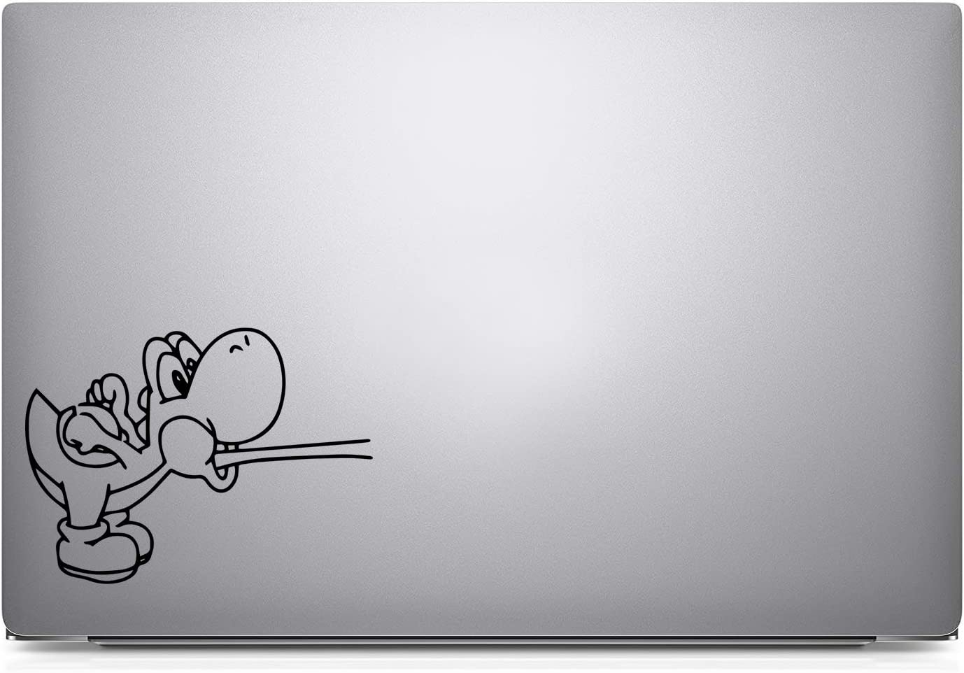 "Bargain Max Decals Yoshi Decal Notebook Car Laptop 5.5"" (Black)"