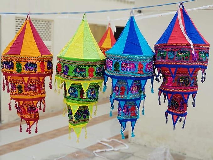 8 Pieace Linterna Decoraciones Cumpleaños Fiesta Plegable ...