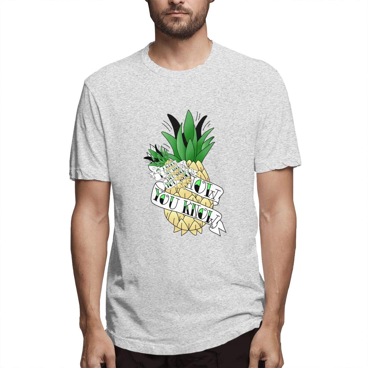Sy Compact S Psych Pineapple Gym Training Short Sleeve T Shirt 6326