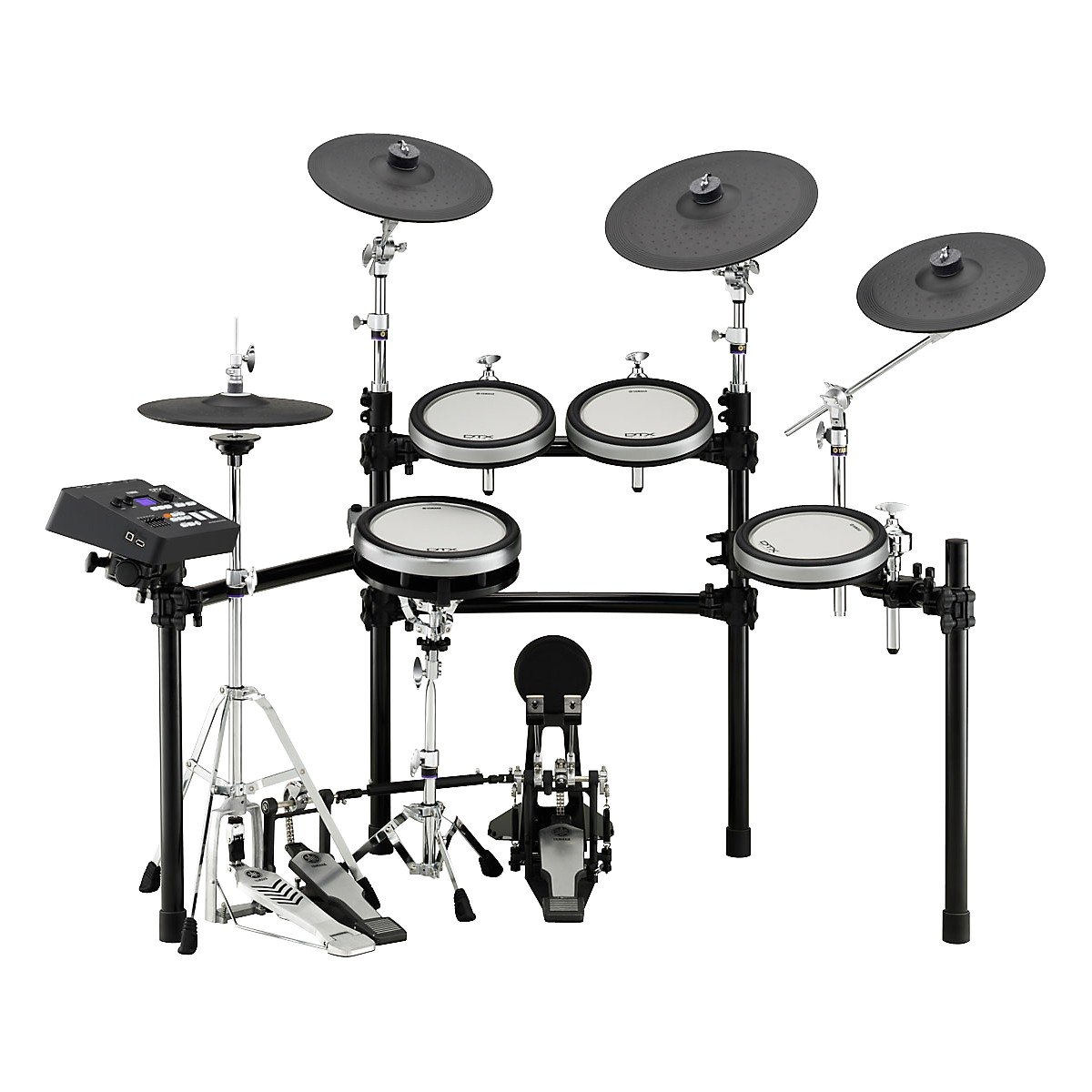 This 5 Pieces Electronic Drum Set Is Made By Yamaha Another Well Established Brand