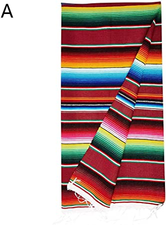 Per Tassel Nappe Style Mexicain Nappe Arc
