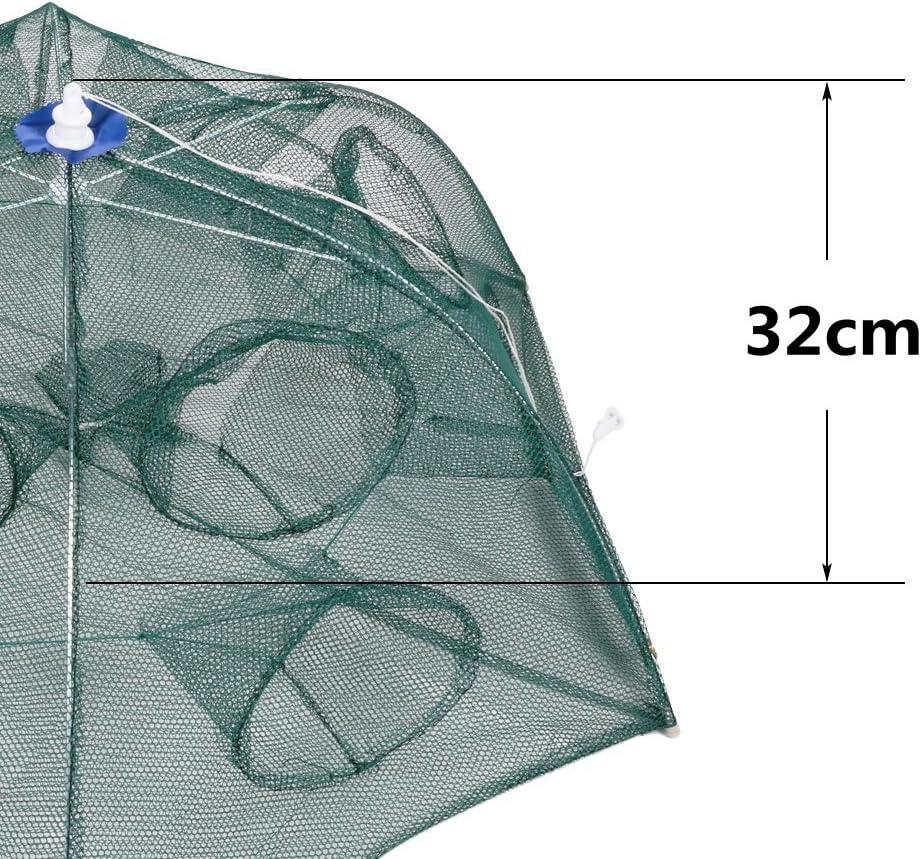 """Clear RUBBER LANDING NET BAG 47 /""""Klares Fliegenfischen Trap Bait Shrimp"""