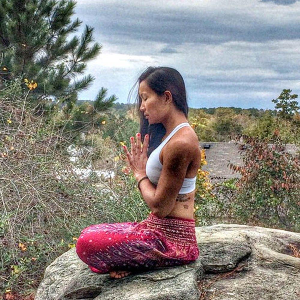 ODRD Damen Yoga Hosen Pants M/ännlicher Weiblicher Pfau Drucken Lose Taillenlaternen Yogahosen Laufhose Sweathose Jogging Trainingshose Fitnesshose Sweatpants Hose Jogger/Outdoor Sport