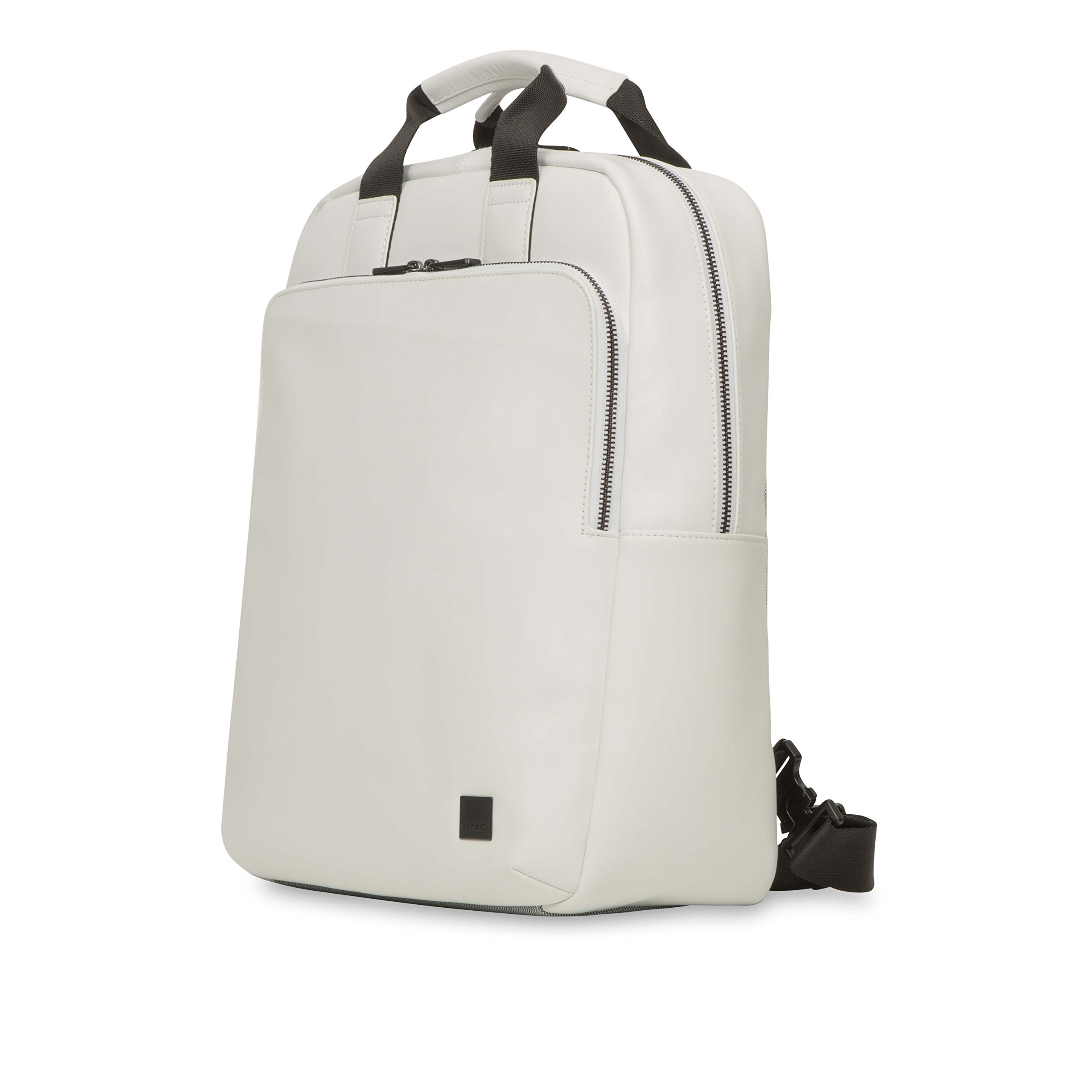 Knomo Luggage Men's Dale Business Backpack, White, One Size by Knomo