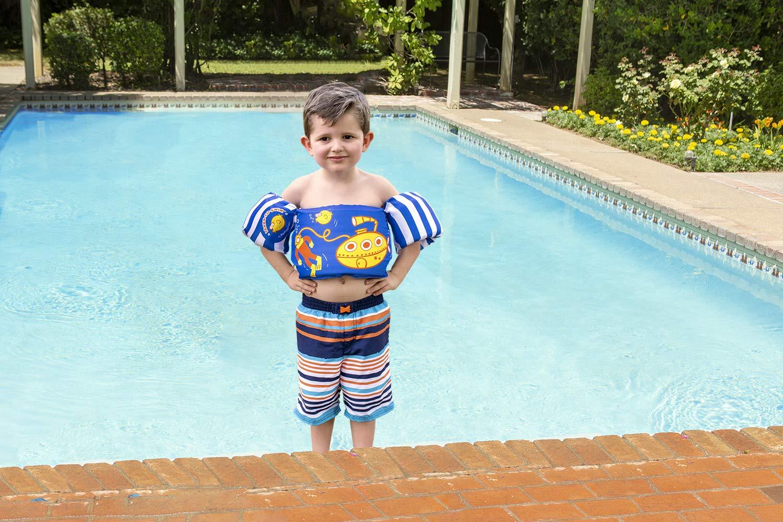 e8683ab736 Amazon.com: Poolmaster Learn-to-Swim Swimming Pool Tube Float Trainer,  Blue: Toys & Games