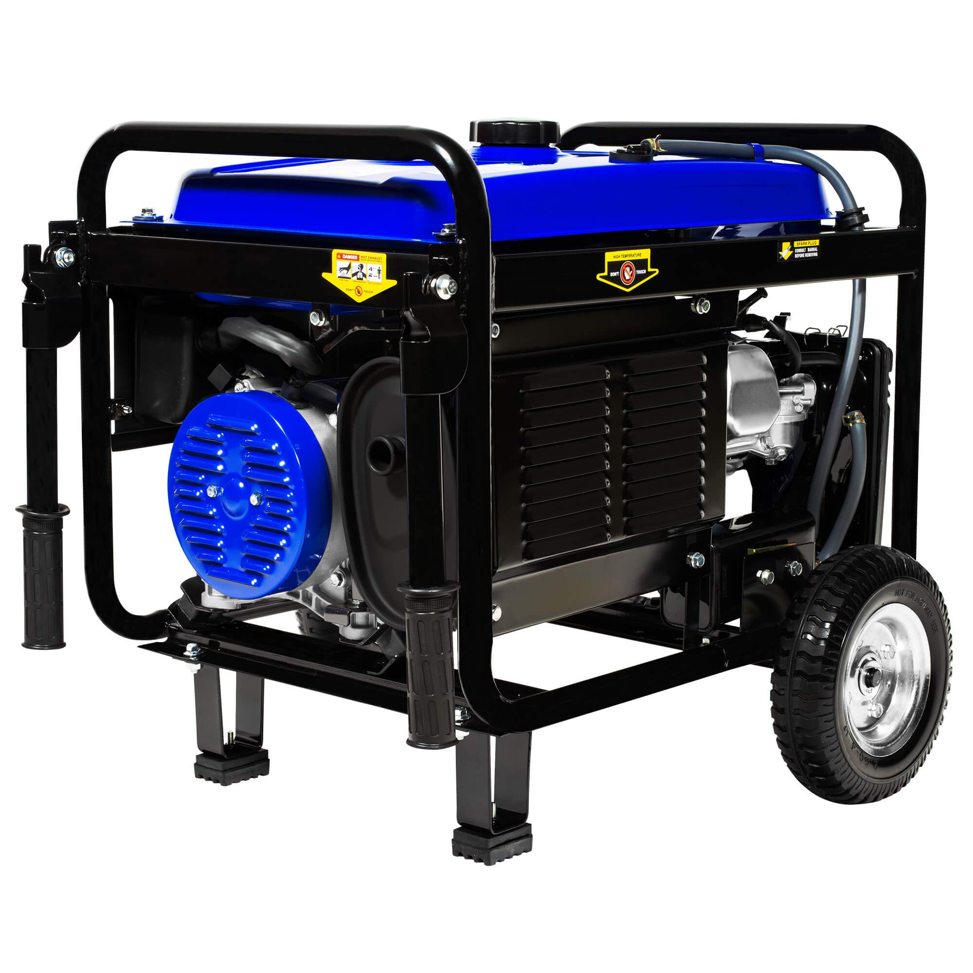 DuroMax XP5500EH 5,500 Watt 7.5 HP Portable Electric Start Dual Fuel Gas/Propane Generator by DuroMax (Image #9)