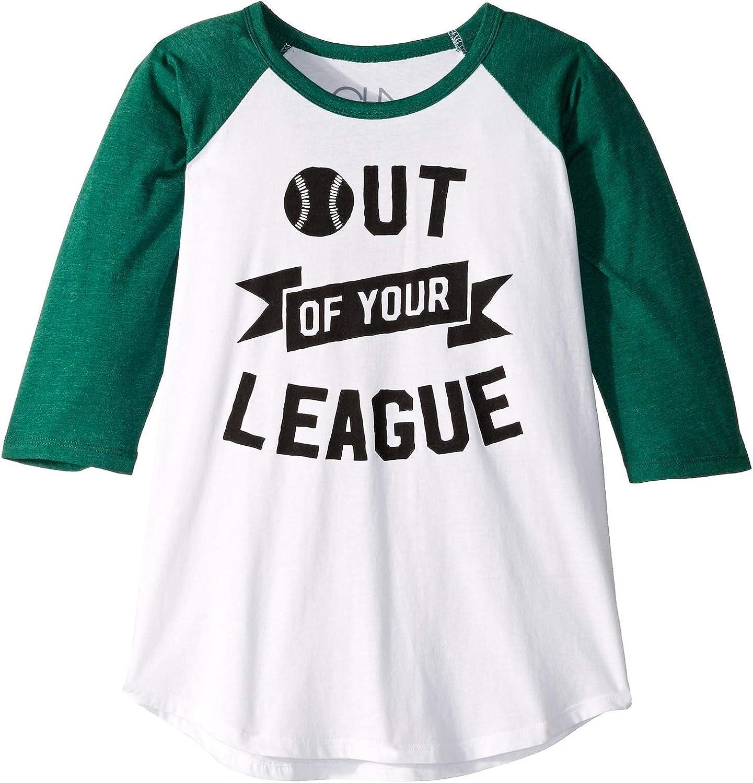 Chaser Kids Boys Super Soft Vintage Jersey 3//4 Sleeve Raglan Baseball Tee Little Kids//Big Kids