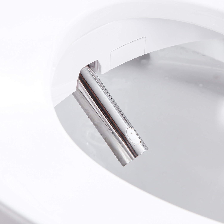 color blanco y negro 1800.00W 220.00V para ni/ños Funda inteligente para asiento de inodoro con calefacci/ón FOHEEL