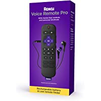 Roku Voice Remote Pro   Rechargeable Voice Remote with TV Controls, Lost Remote Finder,… photo