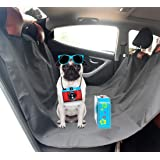FEENM Pet Seat Covers [4.6'x5'] Waterproof Durable Universal Cat Dog Back Seat Protector Pad Mat for Auto Car Suv Truck
