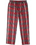 Life is good Classic Sleep Pants Red Pants, Gray Plaid