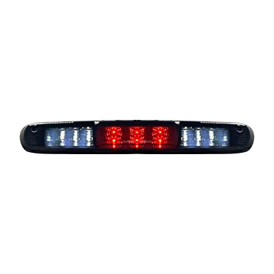 Roane Concepts LED 3rd Third Brake Light Bar - Replacement for 2007-2013 Chevrolet Silverado, GMC Sierra (Smoke): Automotive