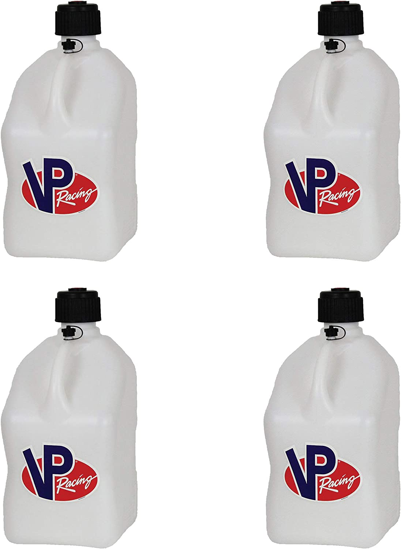 "4 Pack VP Racing 5 Gallon Motorsport Racing Fuel Gas Can /& 14/"" Hose 4 Pack"