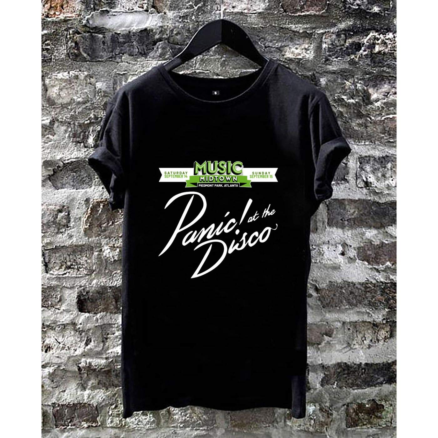 Lu Bu Store Panic At The Disco Tour Music Unisex Shirts