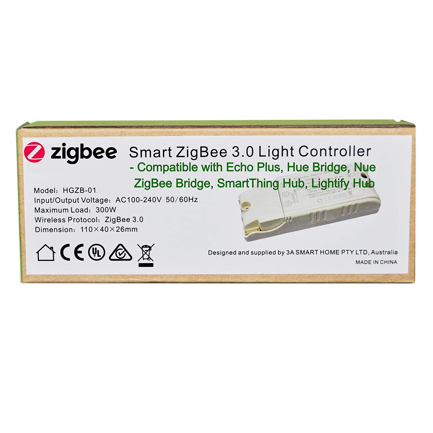 Smart Zigbee Light Switch Controller For Echo Plus And Compatible Relay Bridge Hub To Control Normal Lights Led Downlights Home Automation