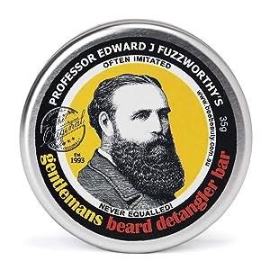 Professor Fuzzworthy's Beard CONDITIONER Deep Detangling wash | 100% All Natural Chemical Free | Tasmanian Beer & Honey | Organic Essential Plant Oils | Travel Friendly Handmade in Tasmania Australia